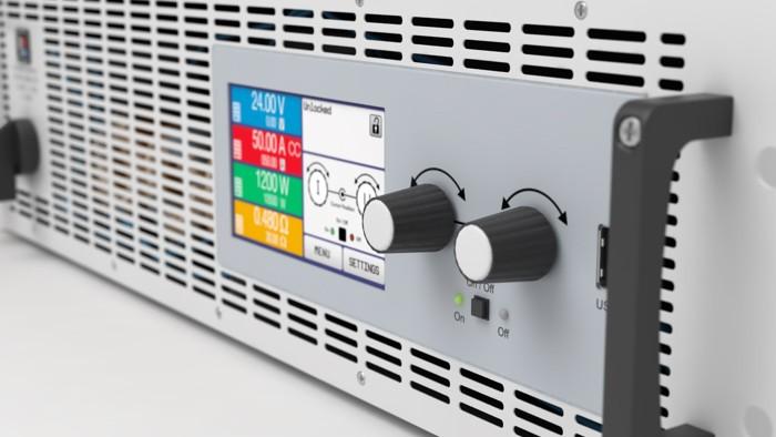 Электронная нагрузка с рекуперацией EA-ELR 9750-20 HP 3U фотография №2